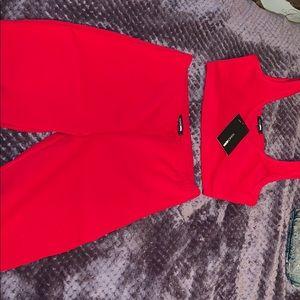Fashinova red 2 piece outfit ❤️